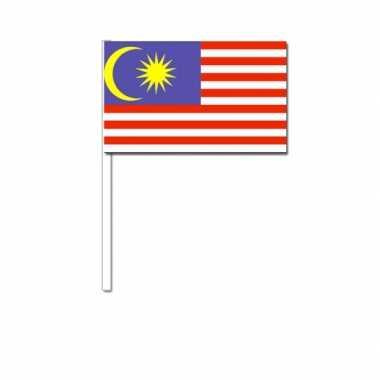 Zwaaivlaggetjes maleise vlag