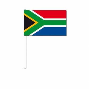 Zwaaivlaggetjes zuid afrikaanse vlag