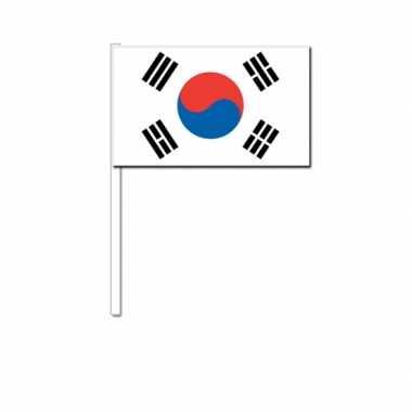 Zwaaivlaggetjes zuid koreaanse vlag