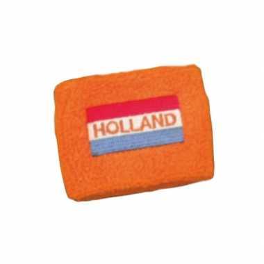 Zweetbandje hollandse vlag