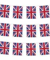 3x nationale vlag engeland vlaggenlijnen