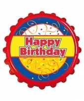 Bierdop opener happy birthday