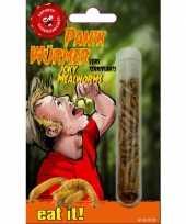 Eetbare meelwormen tube
