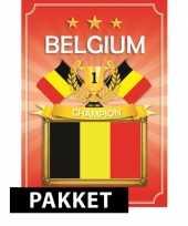 Ek wk belgie feestartikelen pakket