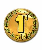 Extra grote button 1e prijs 10