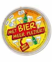 Fun dienblad bier meer plezier