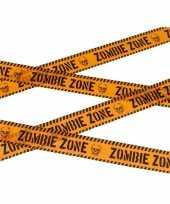 Halloween thema markeerlint zombie zone