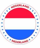 Nederland vlag bierviltjes