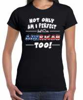 Not only perfect american amerika t-shirt dames
