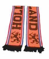 Oranje fan sjaals holland leeuwen enkel gedrukt