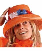 Oranje hoed bloemen