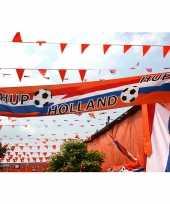 Oranje holland thema straat vlag 74 340