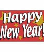 Oud nieuw vlag happy new year