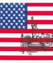 Servetten amerikaanse vlag