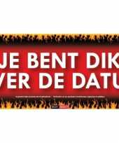 Sticky devil stickers tekst je bent dik over datum