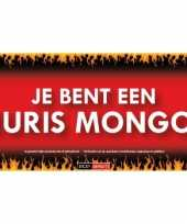 Sticky devil stickers tekst je bent een pleuris mongool