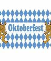 Stoffen oktoberfest vlag 90x150
