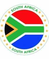 Zuid afrika vlag bierviltjes